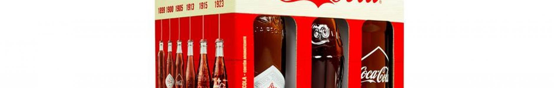 Coca-Cola apresenta embalagem com garrafas vintage